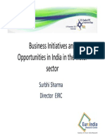 28 Business Initiatives India Water Sharma