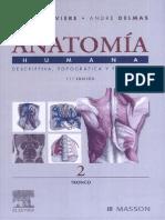 Anatomía Humana Descriptiva, Topográfica, Funcional - Henri Rouvière, André Delmas - 11° ed. 2005 (Tomo II) TRUEPDF