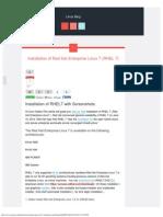 Installation of Red Hat Enterprise Linux 7 (RHEL 7) - Linux Blog