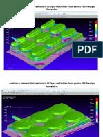Simulare tavii realizata in LS Dyna 2