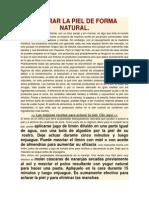 Aclarar La Piel de Forma Natural 190514