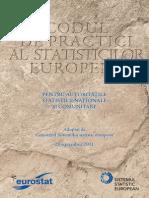 Codul de Practici Al Statisticilor Europene