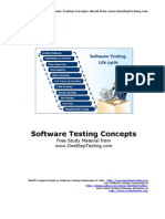 Testing Concepts eBook