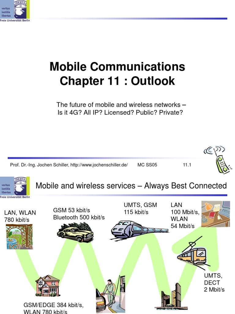 Jochen Schiller Mobile Communications Book
