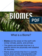 Biomes (bs physics env.sci notes)