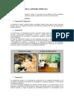Clasificación de La Minería Peruana