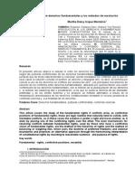 Los Conflictos Entre Derechos Fundamentales y Los Métodos de Resolución