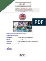 Fany_caipo_tarea_ n 01_ Bioquimicai_importancia de La Bioquimica