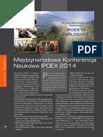 Relacja z Konferencji IPOEX'14