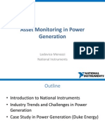 Asset Monitoring in Power Generation