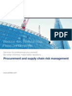 Achilles Procurement and Supply Chain Risk Management Solutions