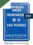 Katadyn Water Guide En
