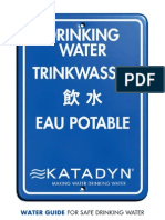 Katadyn Water Guide En