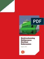 Marktverkenning Multipurpose Maritiem Ondernemen (2014)