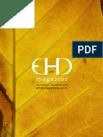 EHD MAGAZINE NÚMERO 7 - NOVIEMBRE Y DICIEMBRE 2014