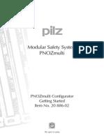 Pilz PNOZ Multi - Getting Started