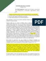 Sistema Político Chileno Trabajo