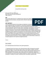 UNIT 25 Menu planning and product development