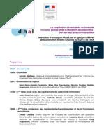 La coopération décentralisée en faveur de l'inclusion sociale et de la résorption des bidonvilles