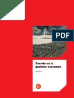 Zeewieren in gesloten systemen (2011)