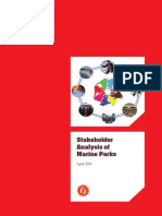 Stakeholder Analysis of Marine Parks (2011)
