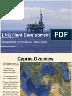 LNG Plant Development at Cyprus