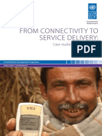 From Connectivity to Service Delivery - Case Studies in E-Governance