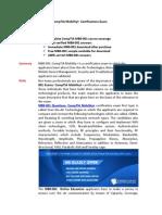 MB0-001 PDF Training Guides