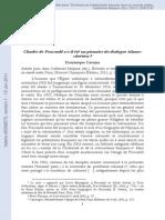 Charles de Foucauld a-t-il été un pionnier du dialogue islamo-chrétien ?