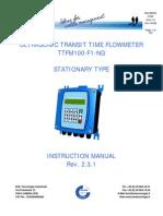 Flujometro Digital Ttfm100 Handleiding f1 Ng Uk Rev231