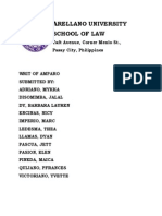 Writ of Amparo Consolidated cases