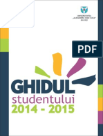 Ghidul Studentului UAIC 2014-2015