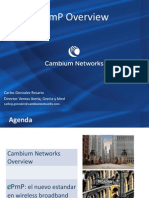 Presentación del Webinar de Landatel sobre ePMP Cambium Networks