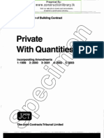 JCT 98 Private with Quantities