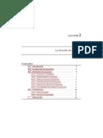 Texto La Direccion de Proyectos