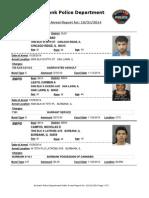 public arrest report for 31oct2014
