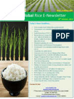 30th October,2014 Daily Global Rice E-Newsletter by Riceplus Magazine