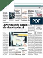 Universidades Se Acercan a La Educación Virtual