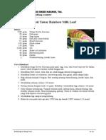 Roti Tawar Rainbow Milk Loaf (AC.101)