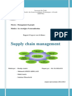 Supply Chain Management (Rapport)