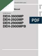 Pioneer DEH-2900MP Manual En