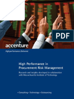 Accenture High Performance in Procurement Risk Management (Lo-res)
