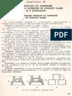 C.10.Tehnologia de Asamblare a Pieselor Cu Suprafete de Contact Plane Si a Ghidajelor