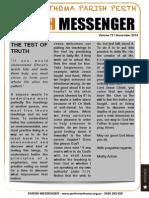 Edition 73 - News Letter November 2014