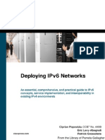 Depoloying IPv6 Networks - Cisco press