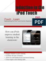 ipod touch for the classroom- itouch and ilearn