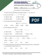Practica Calificada Quimica - Oct.