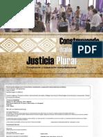 Construyendo Diálogo Para Una Justicia Plural