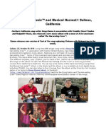 Doug Ranno Music™ and Musical Harvest® Salinas, California