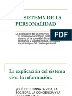 2. El Sistema de La Personalidad